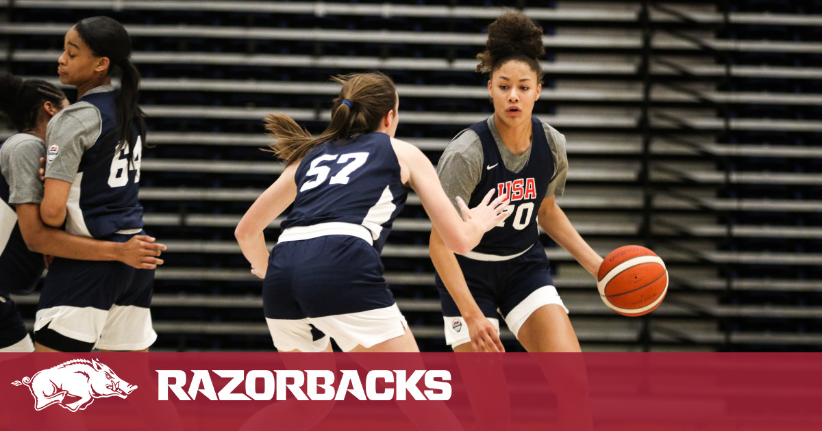 Wolfenbarger One Of Five Finalists For Three Open Roster Spots with Team USA    Arkansas Razorbacks