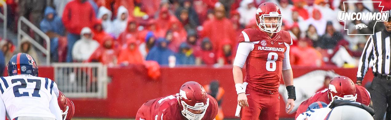 Austin Allen Arkansas Razorbacks Football Jersey - Red