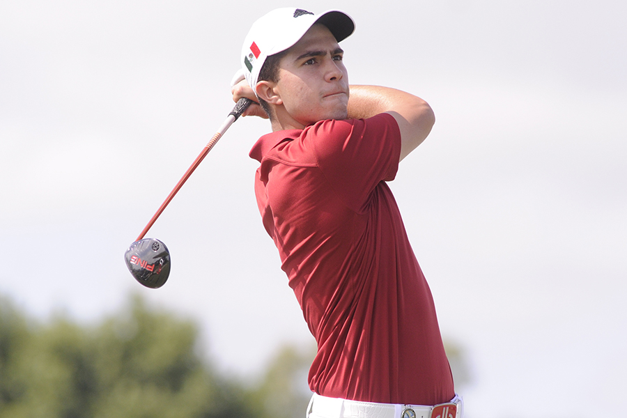 Buenos Aires, Argentina: 2015 Latin American Amateur Championship at Pilar Golf Club on wednesday January 14th, 2015. Enrique Berardi/LAAC.