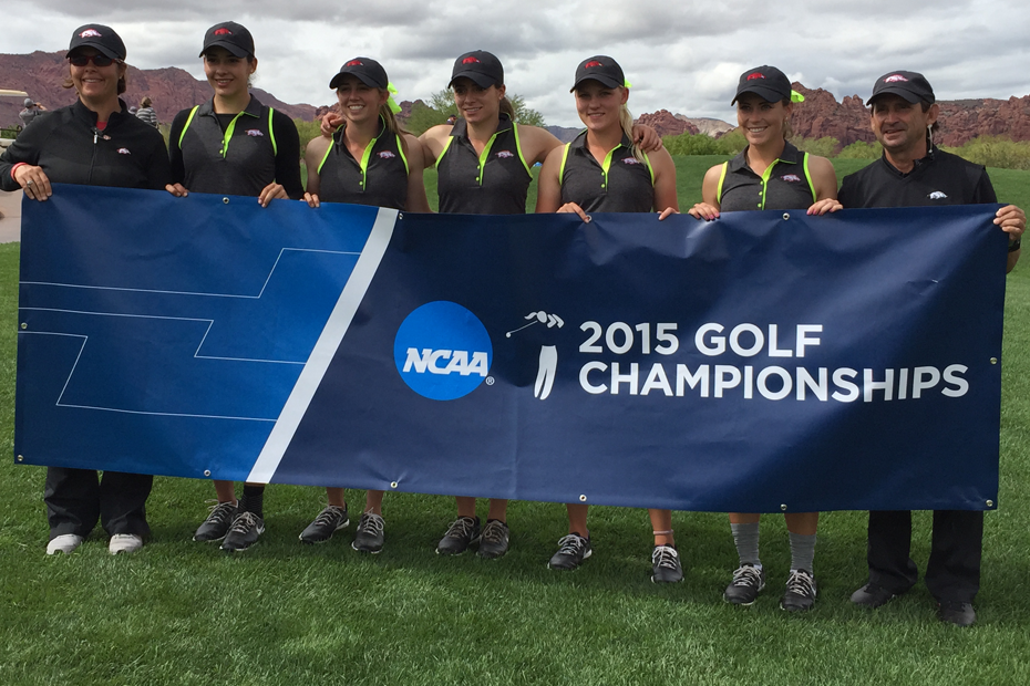 Women's Golf finishes third at the 2015 NCAA Regional in St. George, Utah