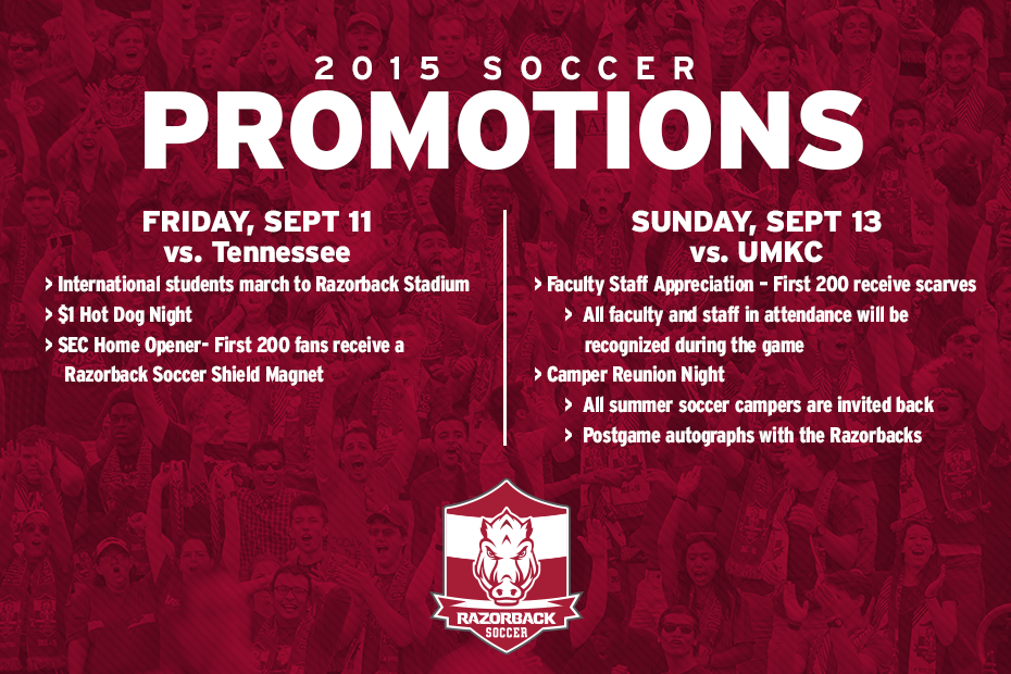 Upcoming Soccer Promotions