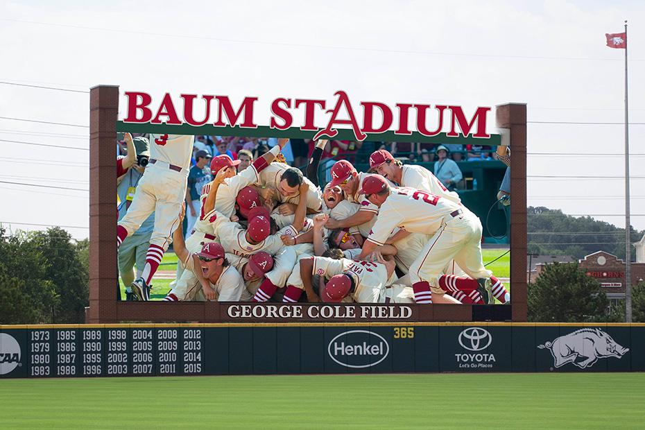 Baum Stadium's MLB-Caliber Upgrade | Arkansas Razorbacks