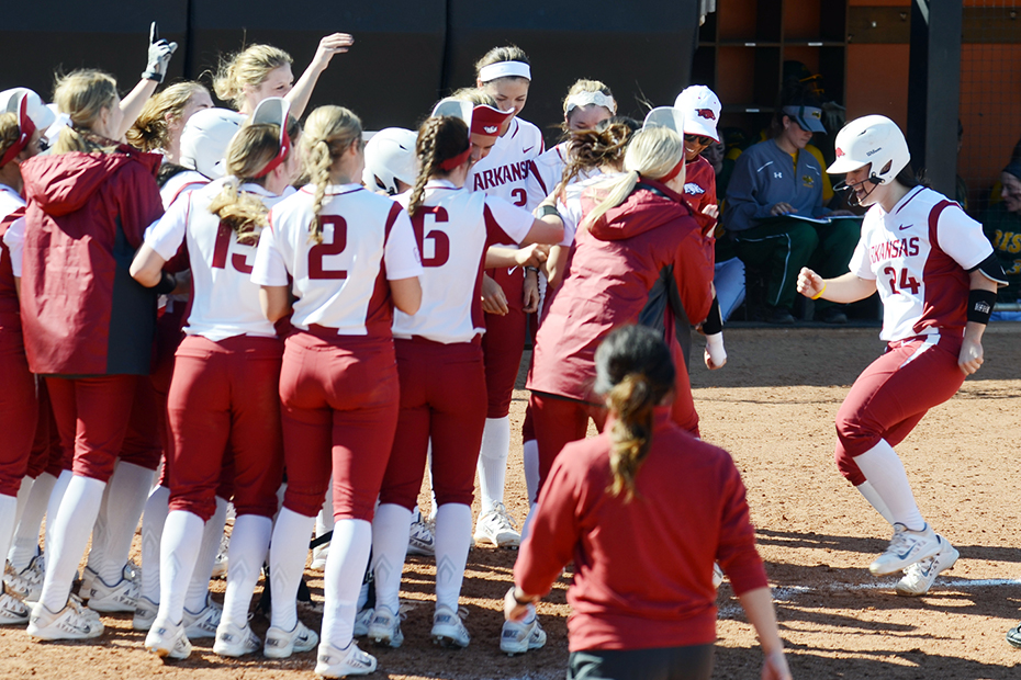 Arkansas Softball vs North Dakota State