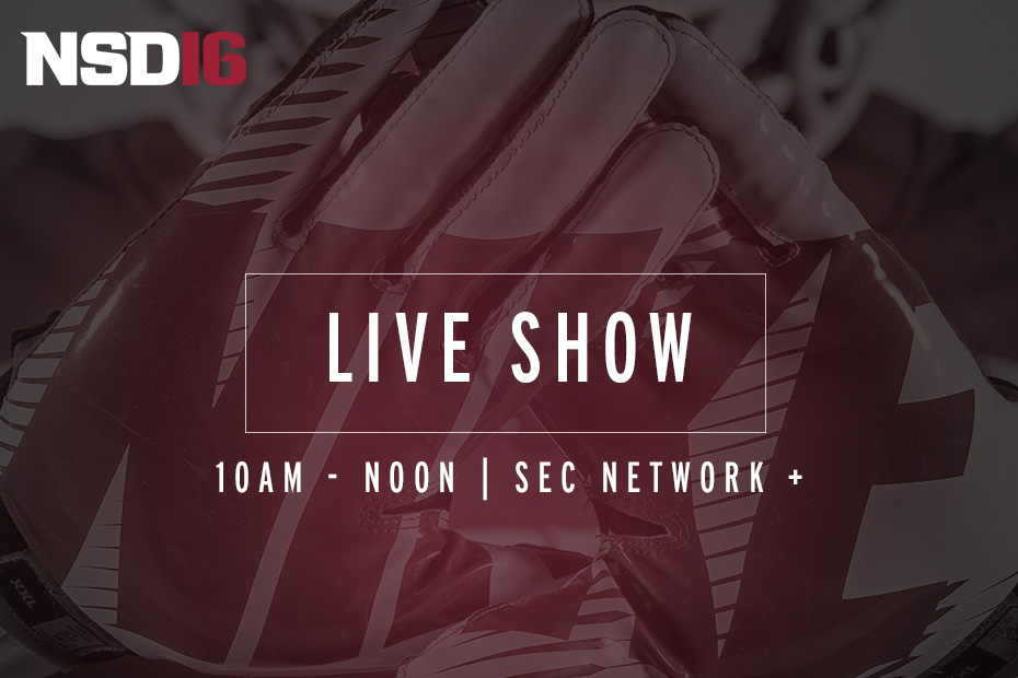 Live: #NSD16 on SEC Network +