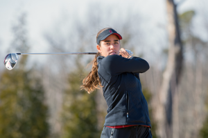 Fassi, Razorbacks Lead After First Round
