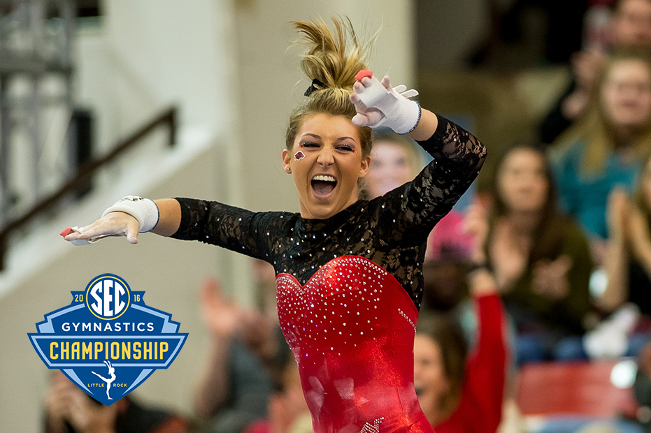 2016 Sec Gymnastics Championship Media Hub Arkansas