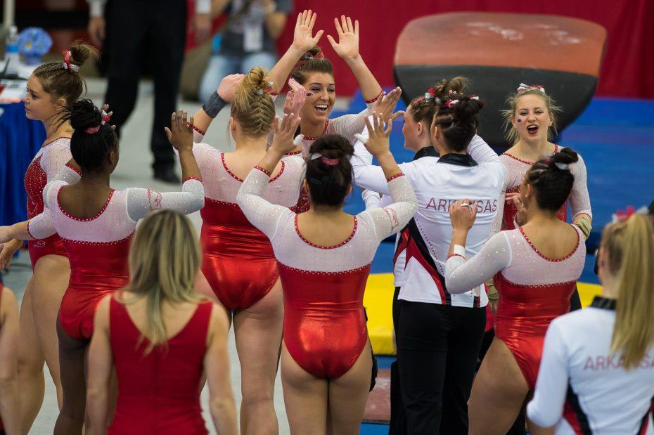 alabama arkansas gymnastics meet 2016