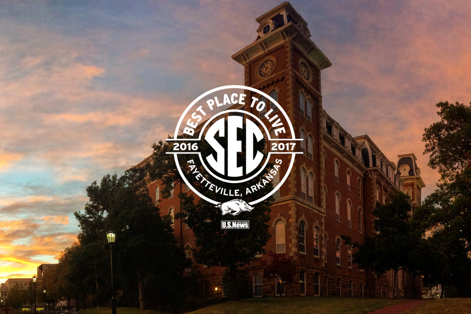 Fayetteville Repeats As 'Best Place To Live' In SEC