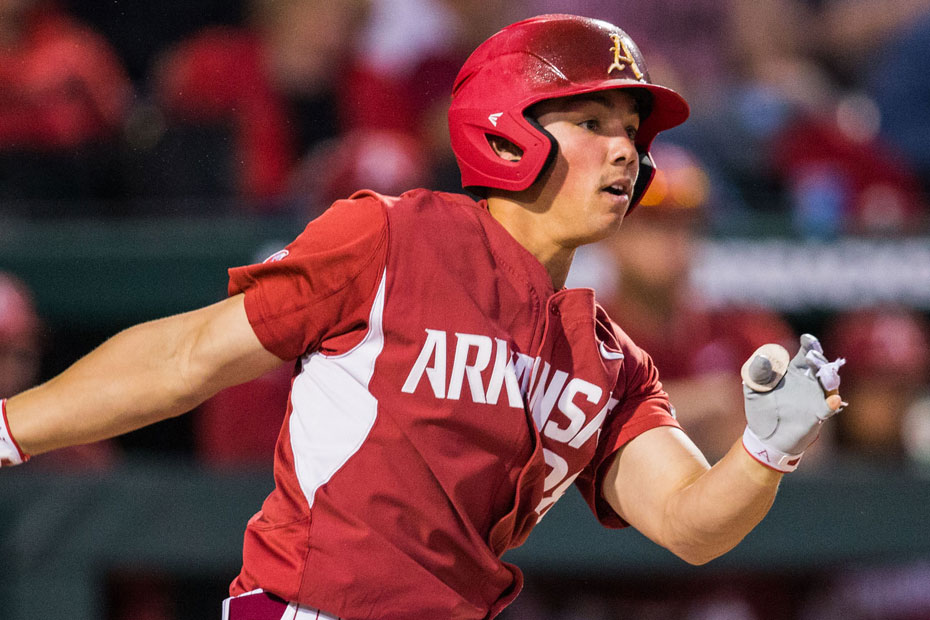 Hogs Slug Way To Series Win Over Missouri