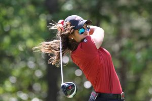 Fassi Leads, Arkansas In Second At Auburn
