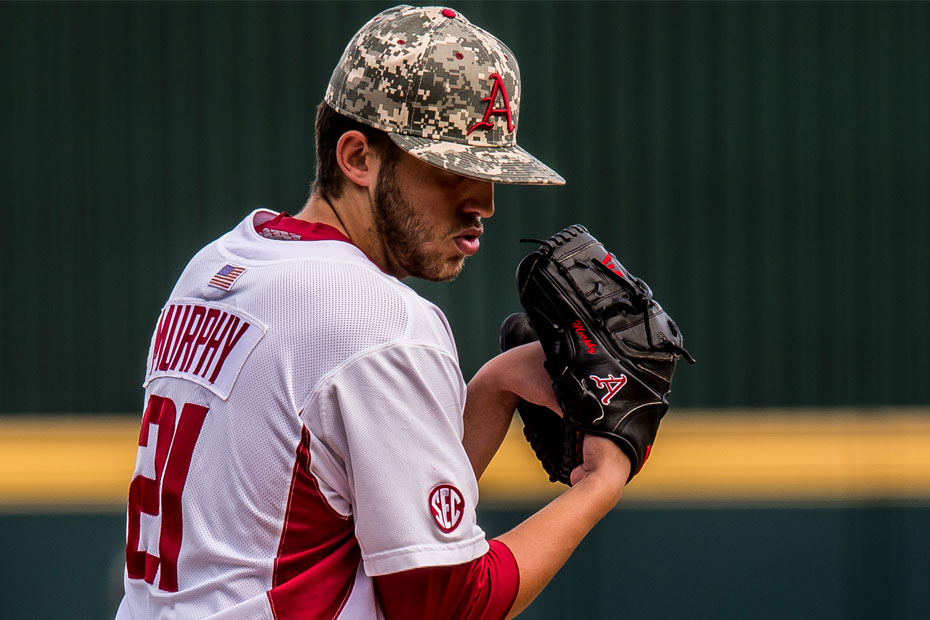 Hogs even series with Auburn, 7-3