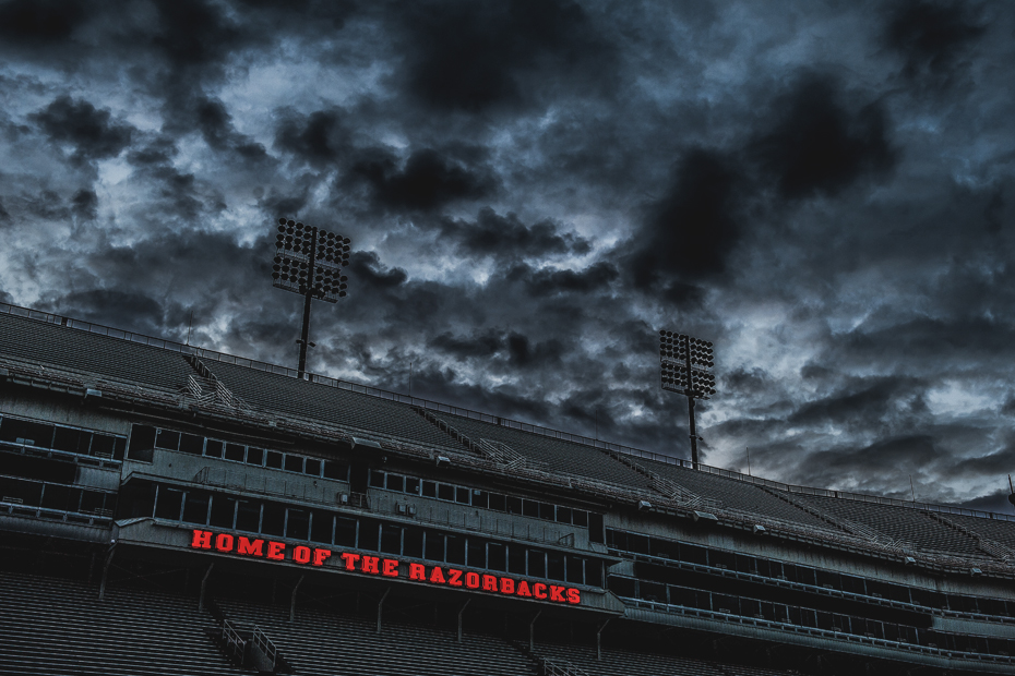 Arkansas closes spring football game to public due to expected bad weather