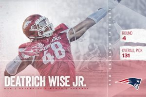 Wise Goes In 4th Round To Patriots