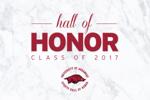 2017 UA Sports Hall of Honor Class Announced
