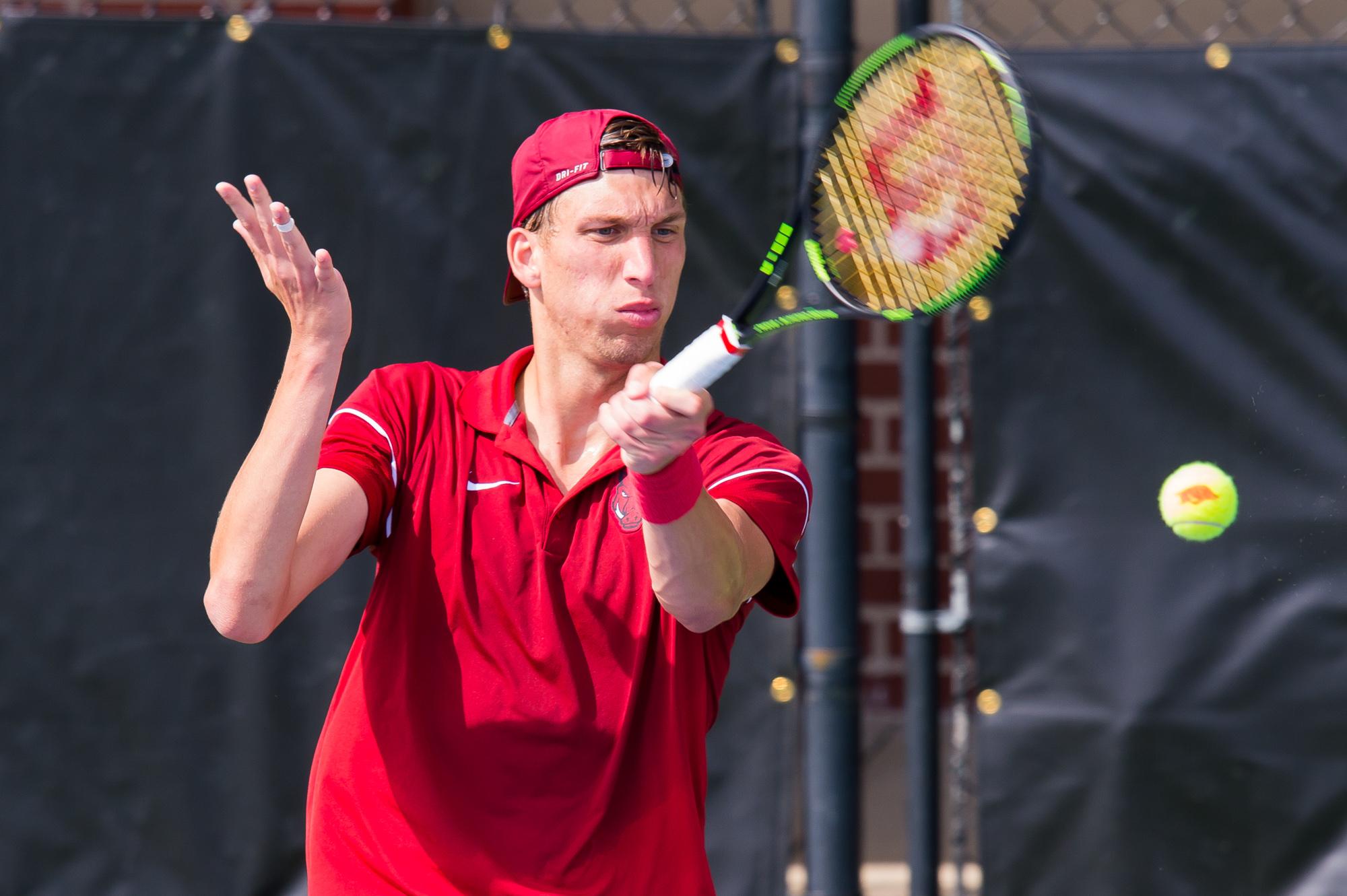 Redlicki Advances In Singles, Salazar Looks Ahead To Doubles