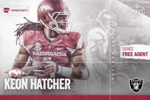 Hatcher Headed To Oakland