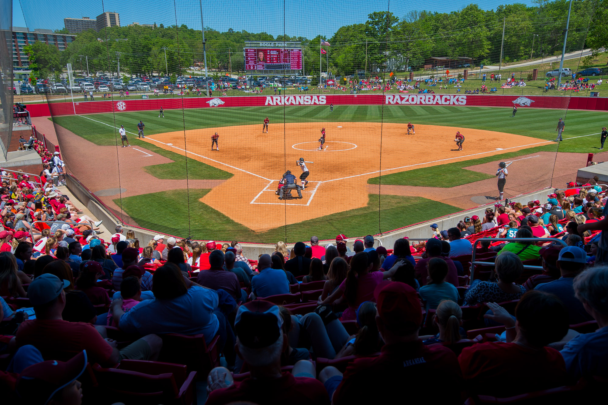 arkansas razorbacks softball stadium