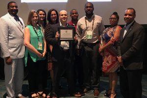 OSAS Team Presented N4A Model Practice Award