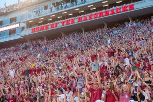 Walk-On Tryout For University of Arkansas Students