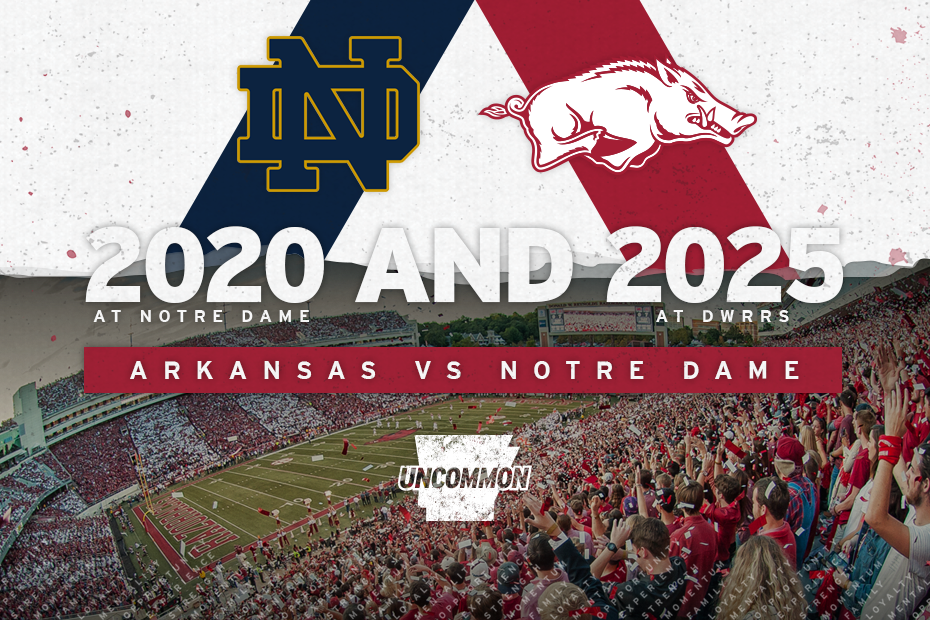 2020 Razorback Football Schedule Two Iconic Football Programs Set For First Meeting | Arkansas