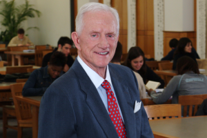 Frank Broyles Remembered For Strong Support of U of A Academics