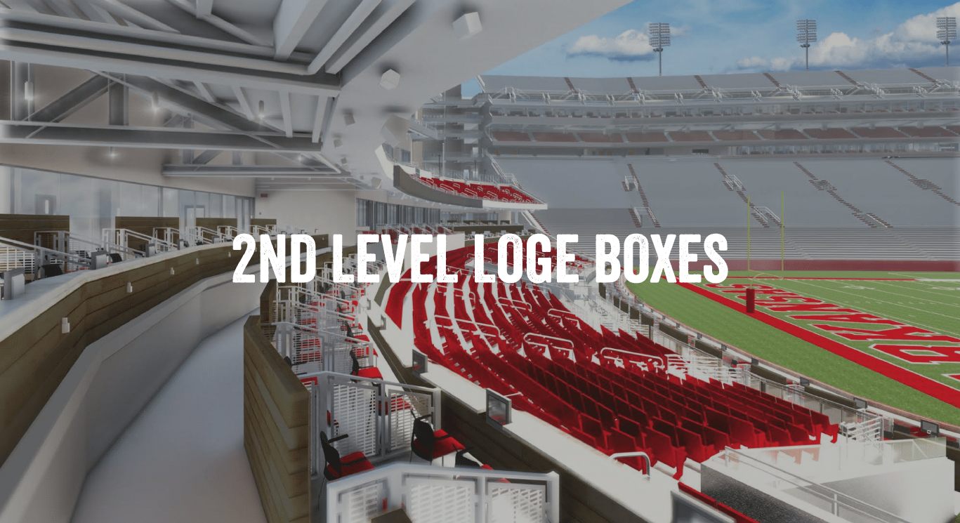 2nd Level Loge Boxes
