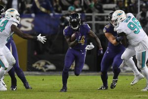 Baltimore #ProHogs Have Big Night Against Dolphins