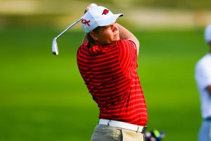 Overstreet Leads Field, Hogs Fourth in Alabama