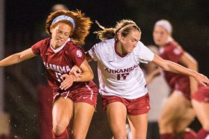 Razorbacks Fall To Crimson Tide Late