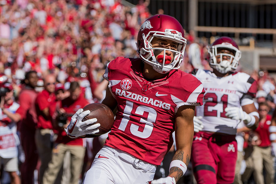 REWIND: South Carolina 48, Arkansas 22