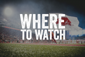 Where to Watch: Hogs vs. Auburn