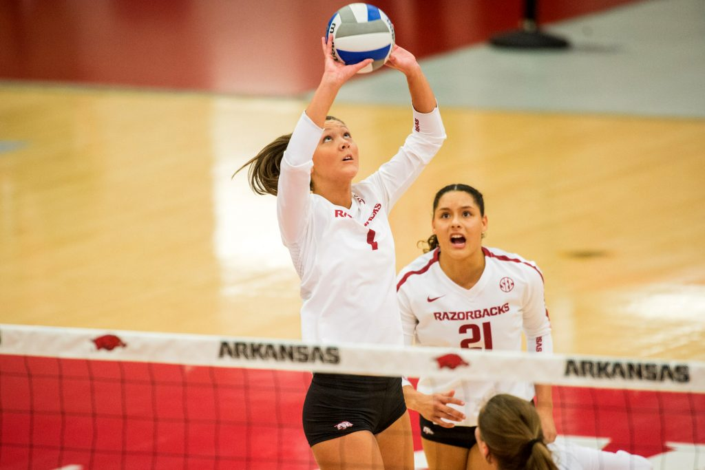 Three Razorbacks Headed to US Women's National Volleyball Team Open Tryouts