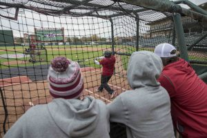 Swing For Your Seats A Hit At Baum Stadium