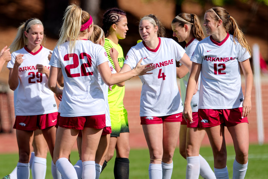Arkansas Concludes Strong Season In NCAA First Round