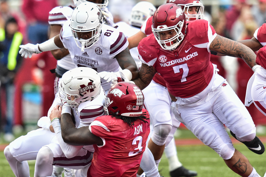 Hogs Fall To No. 16 Mississippi State At Home
