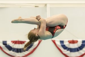 Schultz Wins Three-Meter Title At USA Championships