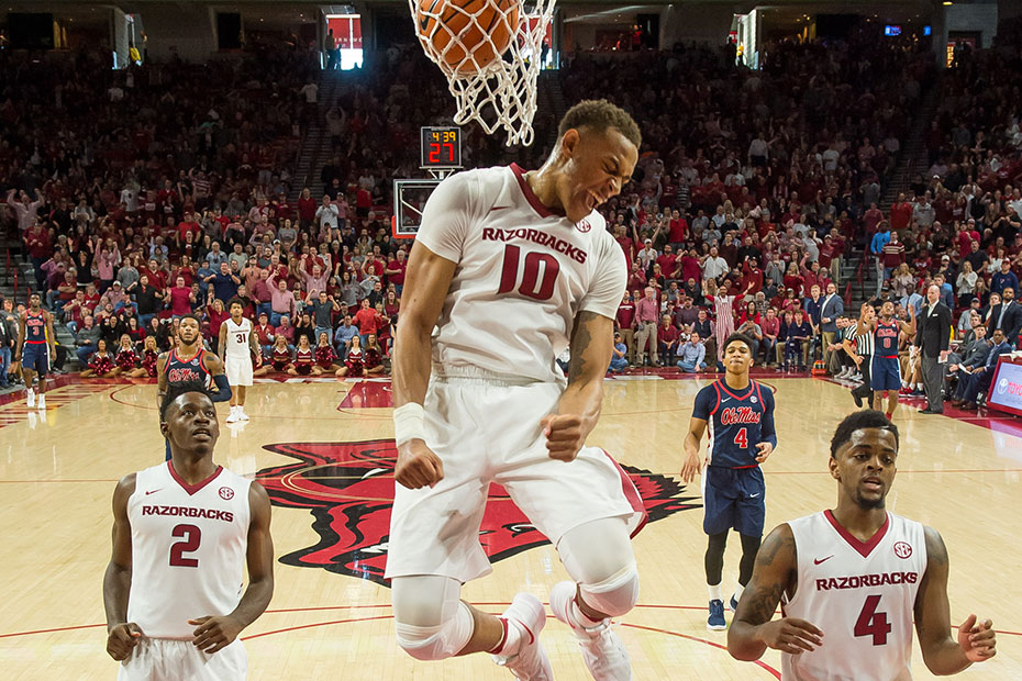Gafford Joins Elite Company With SEC Honor
