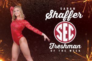 Shaffer Named SEC Co-Freshman Of The Week
