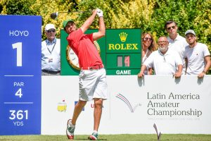 Ortiz In Contention At Latin America Amateur