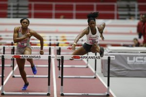 Hurdles Highlight Indoor Finale