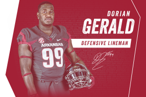 Dorian Gerald Headed To The Hill
