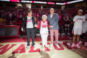 Razorbacks Honor Special Fan