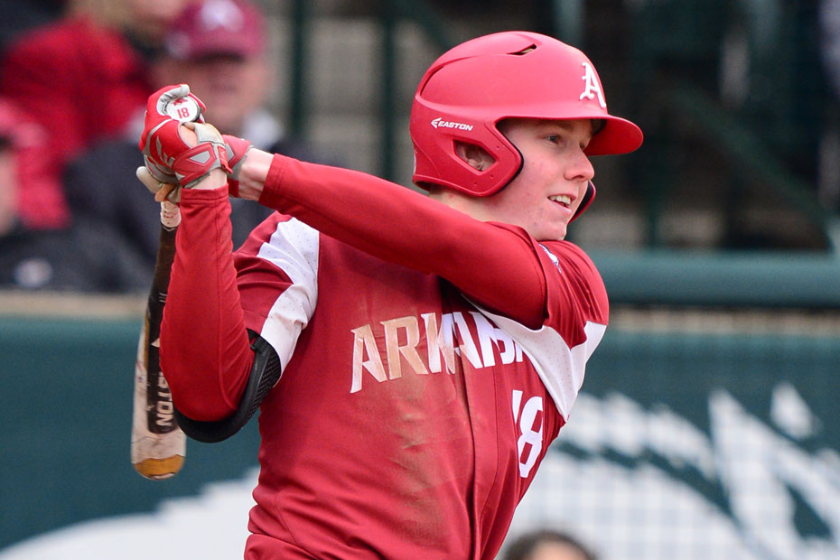Kjerstad's Homer Helps Hogs Win Pitchers' Duel