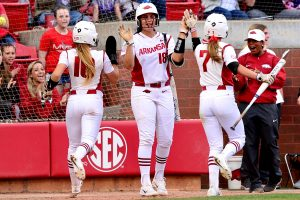 Razorbacks Beat Missouri in SEC Home Opener