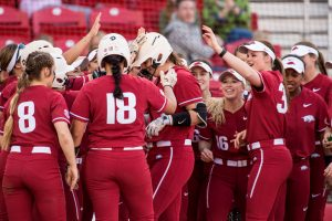 Razorbacks Stay Perfect on Their Home Field