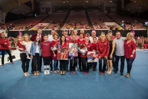 The Photos: Arkansas Sets Record On Senior Night