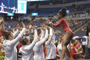 Arkansas Tops First Session Behind 10 All-SEC Performances