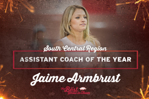 Armbrust Named Region's Top Assistant