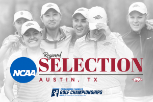 Razorbacks No. 1 Seed in Austin
