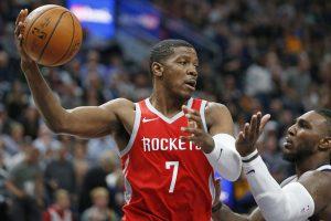 Johnson Eyes Playoff Run With Rockets